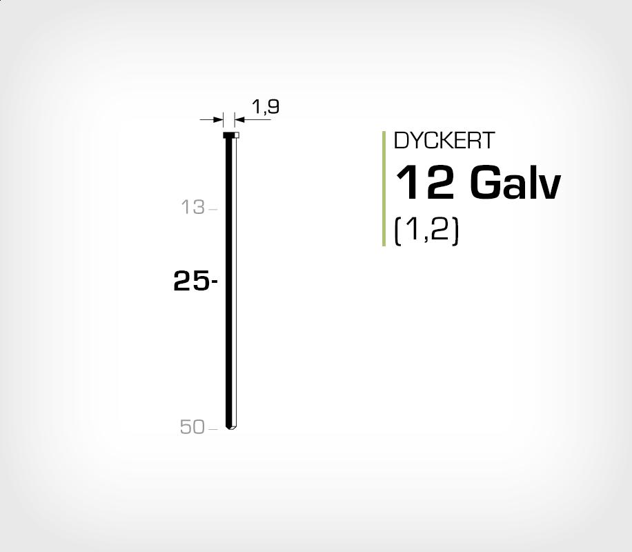Dyckert 12/25 (SKN 12-25) Galv