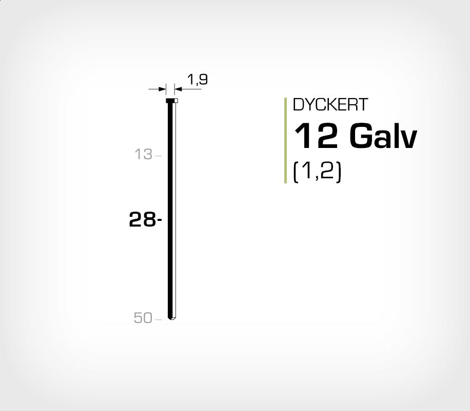 Dyckert 12/28 (SKN 12-28) Galv