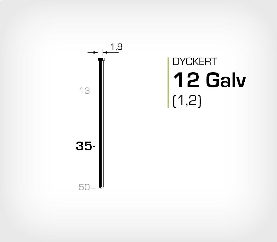 Dyckert 12/35 (SKN 12-35) Galv