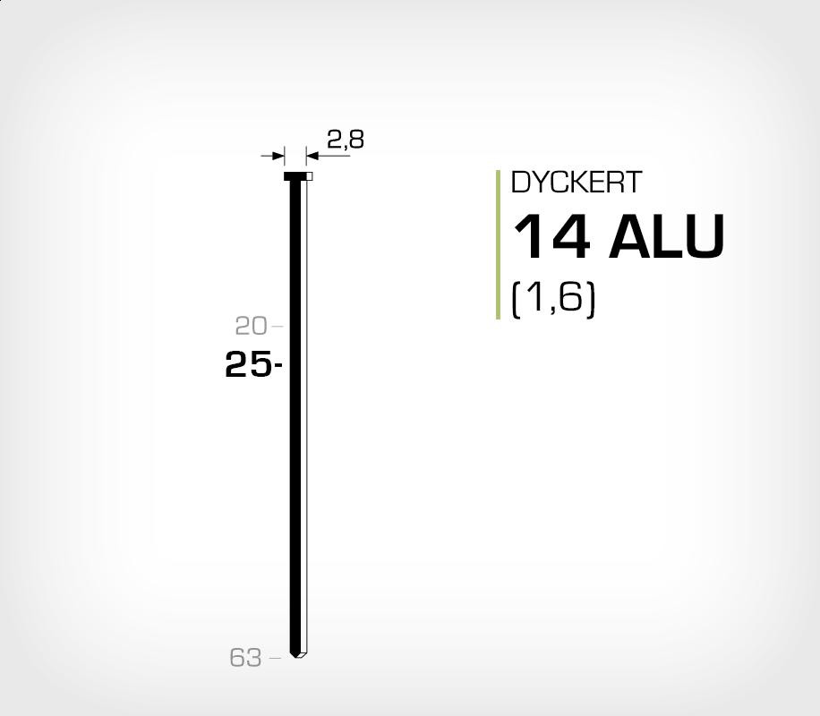 Dyckert 14/25 Aluminium (SKN 16-25 ALU)