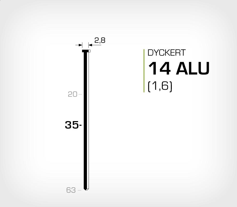 Dyckert 14/35 Aluminium (SKN 16-35 ALU)
