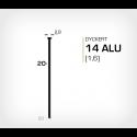 Dyckert 14/20 Aluminium (SKN 16-20 ALU) - 4000 st /ask