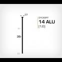 Dyckert 14/35 Aluminium (SKN 16-35 ALU) - 4000 st /ask