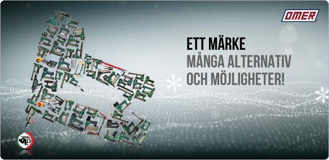 OMER Sverige har ett av marknadens bredaste sortiment av klammerverktyg, lockhäftare och dyckertverktyg