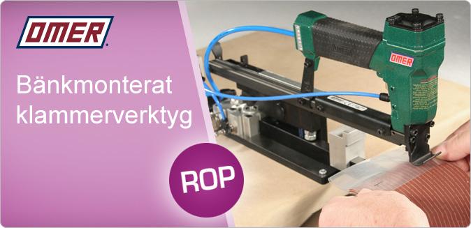 Nyhet! Klammerverktyg ROP - Finns för olika klammer