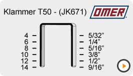 Klammer T50 - JK671 - omer